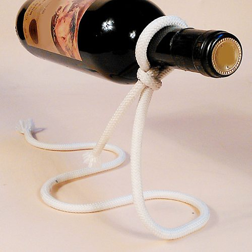 HOT SALES!!!New Arrival Metal Wine Bottle Display Rack Kitchen Dining Cellar Bar Holder Suspension Stand
