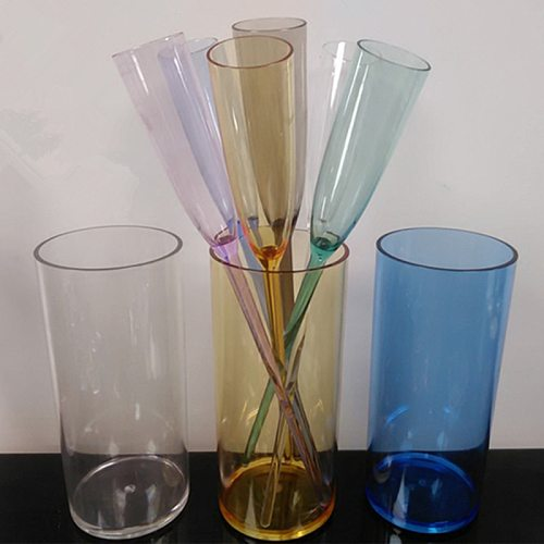 Goldbaking Whiskey Party Decorations Polycarbonate Whiskey Glass Beach Drinking Cup Picnic Wine Glasses Set