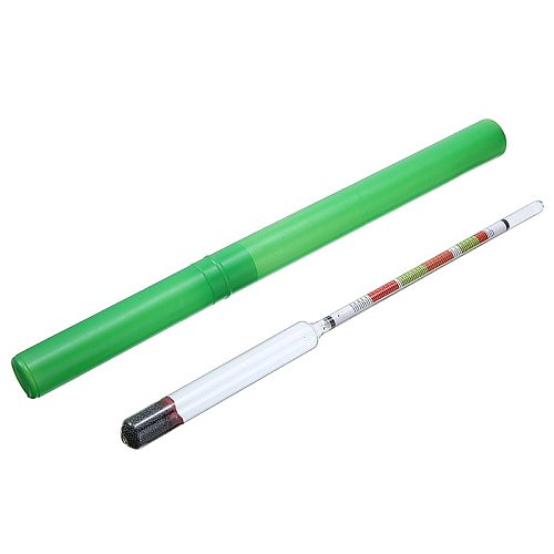 Tester 3 Scale Home Brew Hydrometer Wine Beer Cider Alcohol Testing Making Beer Brewing Handmade Accessories