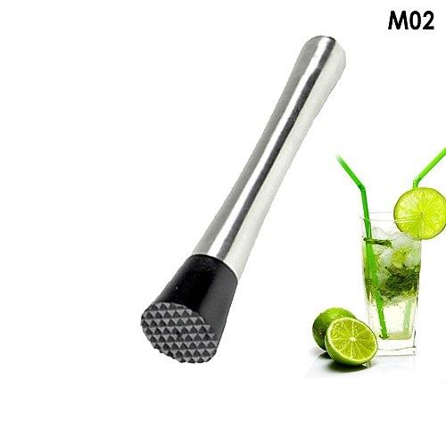 Stainless Steel Muddler Cocktail Muddler Bar Tool Ice Fruit Masher