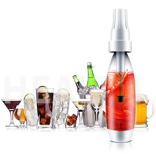 1000ml Portable Carbonated Juice Soda Sparkling Water Maker Beverage Machine food grade PET non toxic and safe for you to use