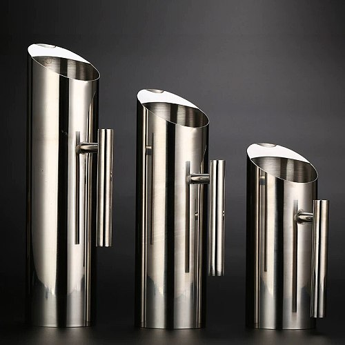 Bar Soul Stainless Steel Kettle 1L 1.5L 2L High Quality Stainless Steel Handle Water Bottle Bartender Tools Bar Tools