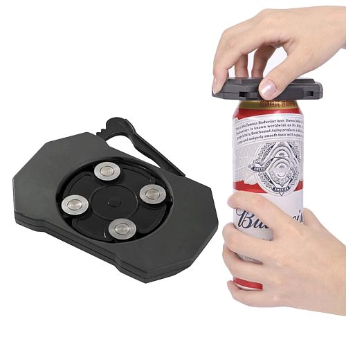 Go Swing Topless Can Cap Remover Hand Manual Easy Opener for Can Tin Jars Kitchen Bar Accessories
