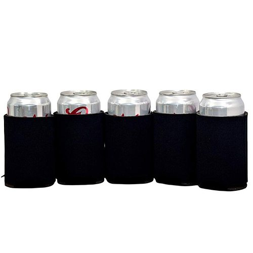 10Pcs Thermal Insulated Beer Can Cover Beverage Drink Bottle Tin Sleeve Holder Protection sleeve, sweat absorption, insulation.
