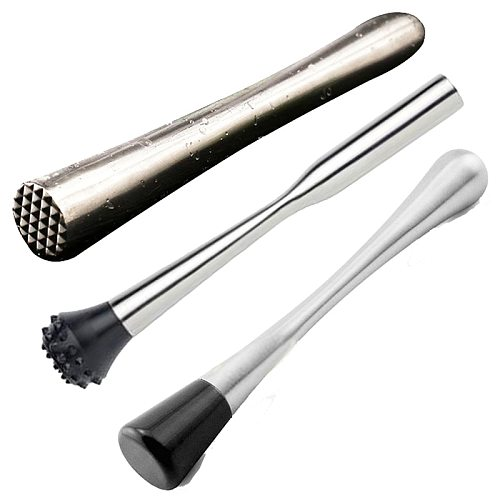 Cocktail Muddler with Hedgehog head Stainless Steel Bar Mixer Mojito Cocktail DIY Drink Bar Kitchen Tools Bar Accessories