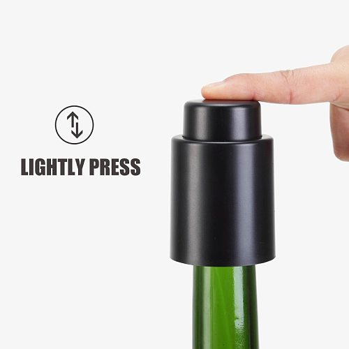 Hot Wine Bottle Stopper Vacuum Sealer Reusable Preserver Easy to Keep for Home Kitchen S7 #5