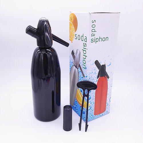 Shenzhen Supplier Wholesale DIY Aluminum Soda Siphon 1.0L Home Soda Water Maker