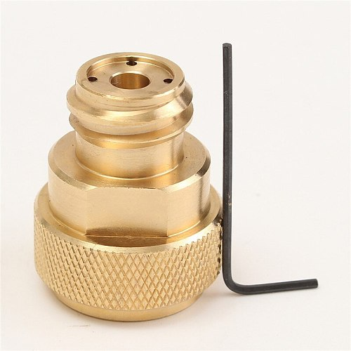 CO2  Adapter Replace Tank Paintball Canister High Quality Bar Tools Fine Workmanship And Durability