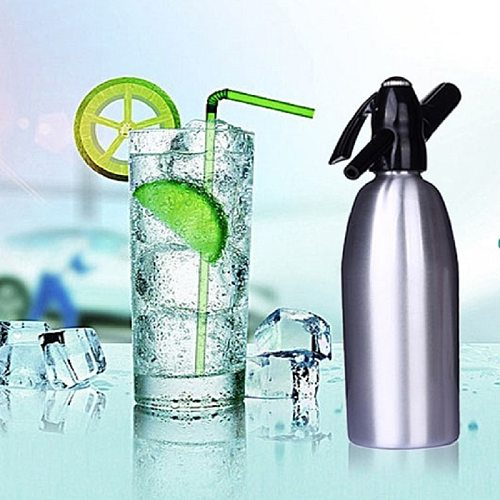 DIY Home Drink Juice Machine Bar Beer Soda Maker Steel Bottle Soda Stream Foam Cylinders Injector