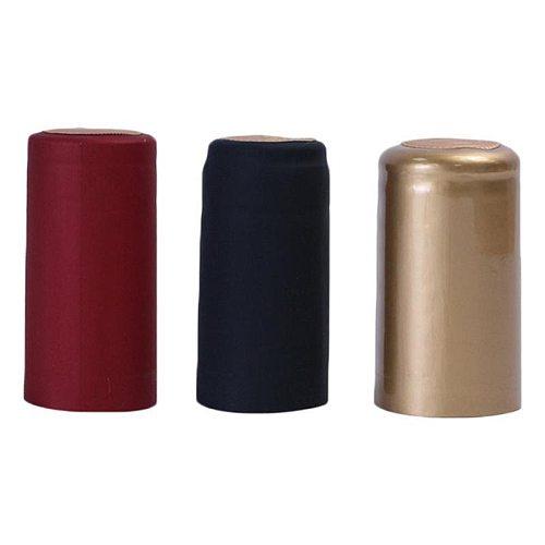 100pcs Wine Bottle Heat Shrink Capsules Wine Heat Shrinkable Plastic Cap Red Wine Heat Shrinkable Film Professional Wine Accesso