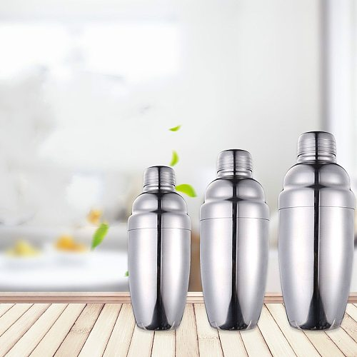 stainless steel snow cup cocktail shaker Shaker Stainless Steel Bartender Wine Cup Cocktail Mixer Martini Cocktail Shaker Bar