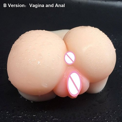 Soft Transparent silicone Sex Dolls Male Masturbator 3D Realistic Anal and Vagina Pussy Masturbation Cup Adult Sex Toys for Men