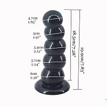 FAAK big dildo strong suction beads anal dildo box packed butt plug ball anal plug sex toys for women men adult product sex shop