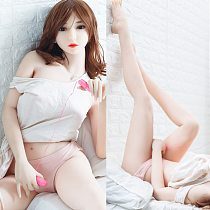 158cm New Silicone Sex Dolls  with Sexy Boobs and ass 100% Japanese TPE Full Size  Real Sex Dolls Lifelike Love Dolls for men