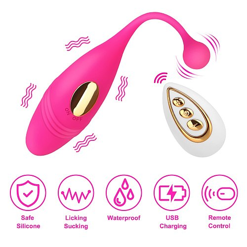 Womans Sexual Wireless Vibrators Vagina Clitoris Massager Anal Sex Toys For Women Female Masturbator Erotic Machine Adults Shop