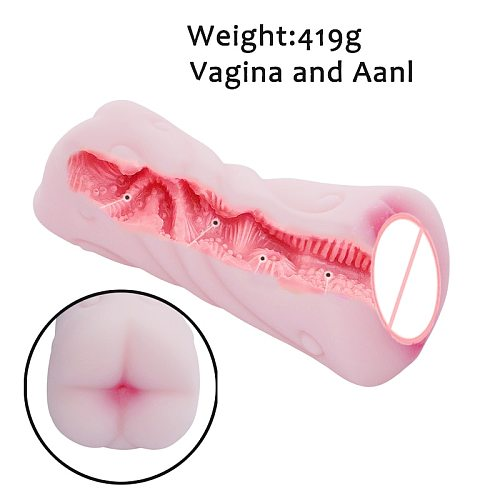 Pocket Pussy Artificial Vagina Male Masturbators Cup Soft Deep Throat Realistic Anal Soft Silicon Sex Toys for Men s
