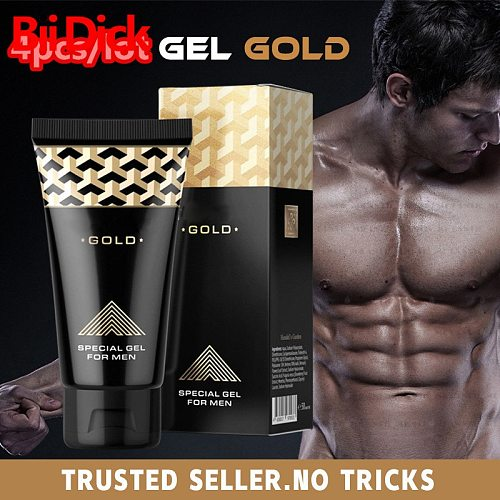 4pcs/lot Enlarge Penis Enlargement Cream Erection Enhance Male Dick Increase Longer Gel Sex Extender Enlarger Toys for Men Titan