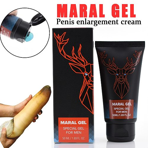 50ml Man Penis Enlargement Maral Gel Delay Male Sex Time Cream Bigger Dick Prevents Premature Ejaculation Cream Sexo gadgets 18+