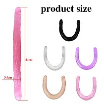 44cm Soft Jelly Dildo Double Long Realistic Dildos Cock Lesbian Vaginal Anal Plug Flexible Fake Penis For Women Dildos Sex Toys