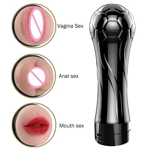 male masturbator cup vibrator real pussy pocket anal mouth sex dolls toys for men artificial vagina pocket adult toys products