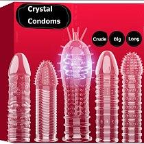 14 Type Male Enlargement Penis Extender Sheath Reusable Condom Enhancer Erection Penis Sleeve Delay Ejaculation Sex Toys for Man