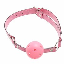 Hollow Red Ball Mouth Ball Gag, Mouth Cork Sex Stopper Romance Loving Joy Adult Sex Game Toys for Couples XN0026