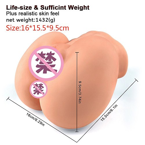 Silicone Big Ass 3D sex doll artificial vagina real pussy Sex Toys for Men Male masturbator cup Masturbate for man Gay sex shop