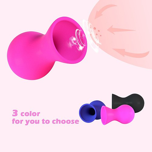 Nipple Sucker Breast Masturbator Enlarger Nipples Stimulation Nipple Pussy Suction Vacuum Pump Erotic Sex Toys for Adult Women