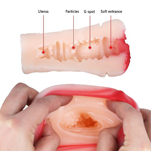 Male Masturbation Cup Realistic Vagina Anal Male Masturbator 3D Artificial Vagina Soft Tight Pussy Aircraft Cup Sex Toys