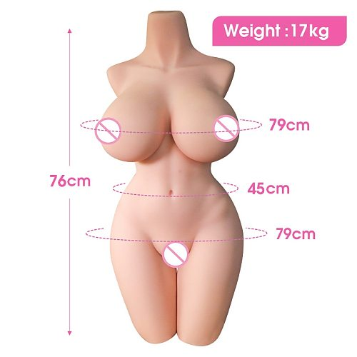 Sex Dolls Love Doll Torso Half Body TPE Realistic Sex Doll Vagina Big Breast Ass Anal Adult Toys Sex Doll For Men