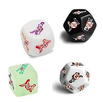 Sex Toys For Couples Adult Games Funny Sex Dice 12 Sides Sex Romance Love Humour Gambling Erotic Craps Dice Bar Toy Couple Gift