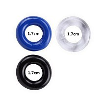 3Pcs/Set Silicone Durable Penis Ring Adult Men Ejaculation Delay Cock Ring Lasting Firmer Longer Erection Cockring Male Sex Toys