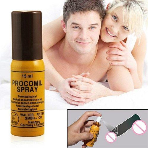 Enlargement Cream Man Lasting Erection Sex Products Procomil Spray Keep Long Time Spray Extenal 15ML Men Delay Spray
