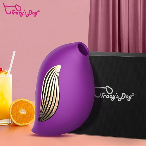Tracy's Dog 2 In 1 Vagina Sucking Vibrator Sex Toy With 3 Constant Sucking Modes And 10 Vibration Modes Adult Toys For Women