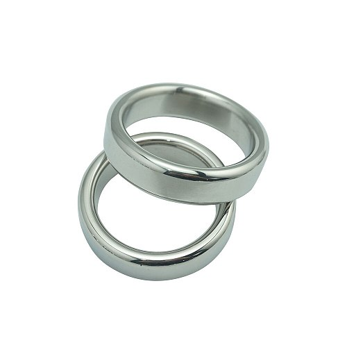 Top quality stainless steel HEAVY DUTY metal cock ring delay penis ring sex toys adult production