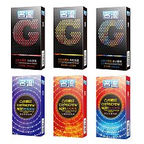 Mingliu 10pcs/lot G-spot Condoms Delay Ejaculation Condones Big Particle Ribbed Condom Stimulation Penis Sleeve Sex Toys For Men