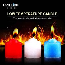 Low Temperature Sex Candle Drip BDSM Candles SM Bed Restraints Sex Toys for Women Men Lover Toys Passion Dripping Drip Wax Game
