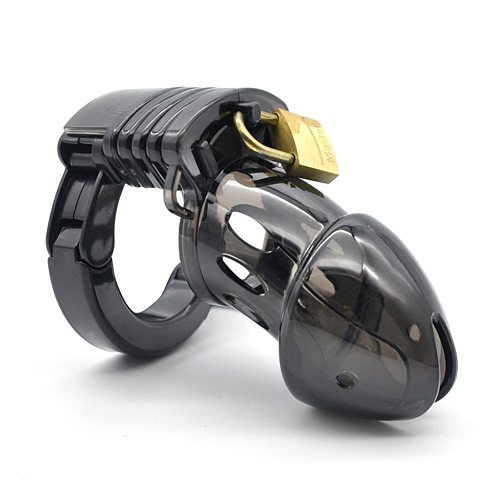 Mini Male Chastity Cock Cage Penis Belt Lock with Four Rings Gay G-spot Stimulator Adults Sex Toys For Man