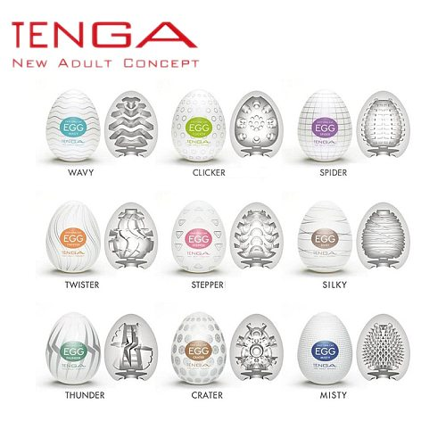 Tenga Eggs Male Masturbation Device Model Simulation Human Vagina Adult Toy Man Masturbation Sex Supplies Concealed Packaging