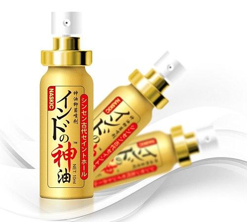 Japan NASKIC Long Time Delay Spray For Men God Oil Penis Enlargement 60 Minutes Delay Ejaculation Sex Spray Sex Products