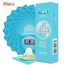 Super Ultra Thin Condoms 30pcs MingLiu Intimate Condone Good Sex Products Natural Rubber Latex Penis Sleeve long-lasting For Men