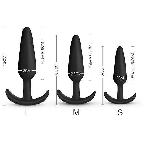 Silicone Anal Plug Butt Sex Toys For Adults Men Woman Gay Beginner Intimate Goods Erotic Two Pairs 18 Small Dildo Shop Products