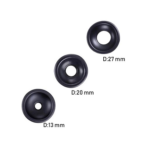 Sex Toys Fit for Male Penis Pump 3 Sizes Pump Ring Silicone Sleeve Penis Extender Trainer Accessories Elastic Erection Enlarger