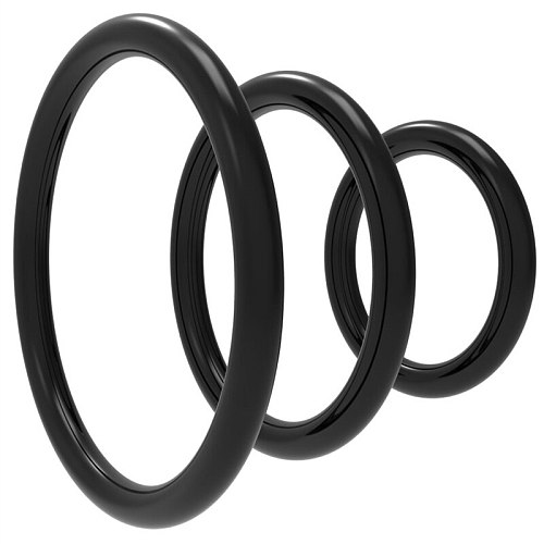 3pcs/set Training Cock Rings Dildo Sleeve Penis Ring Adult Product Sex Toys For Man Male Lasting Delay Ejaculation Exercise