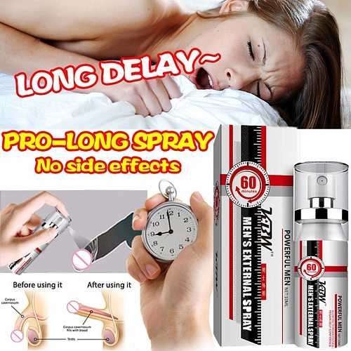 Delay Ejaculation Spray for Men No Side Effect Male Sexo Enhancement Penis Viagra Spray for Delay Lasting Erection Sex Products