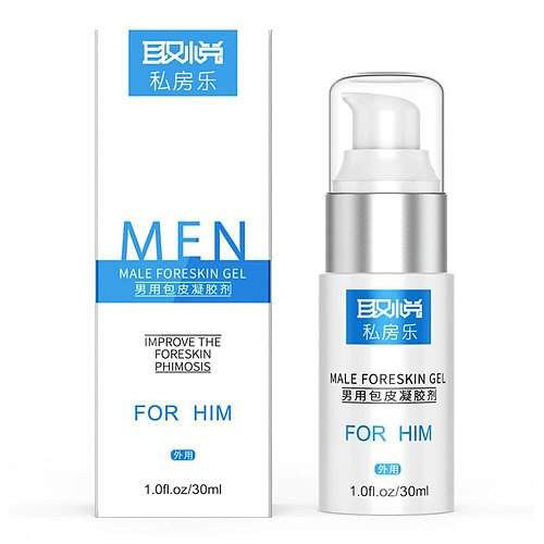 Interest Foreskin Phimosis Correction Care Gel and Penis Head Physical Prepuce Improve Liquid