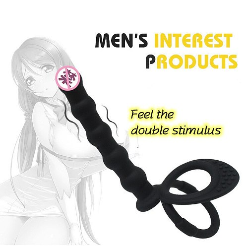 Vibrators Sex Toys Anal Beads For Women Anal Vibrator Sex Toy Gay Prostate Massage Smooth Butt Silicone But Plugs For Couple