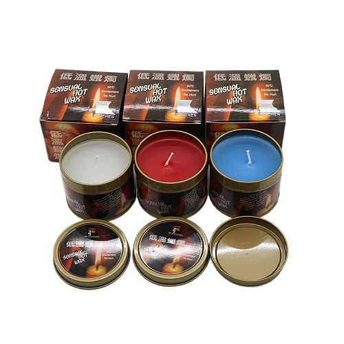 Flirting Massage Candle Sensual Hot Wax Candles Drip Wax Slave Erotic Toys Stimulating Sexual Desire Adult Sex Toys For Couples