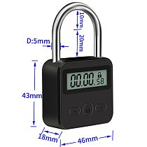 Digital Time Lock Bondage Timer Switch Fetish Electronic Timer BDSM Restraints Sex Toys For Couples Accessories Adult Game