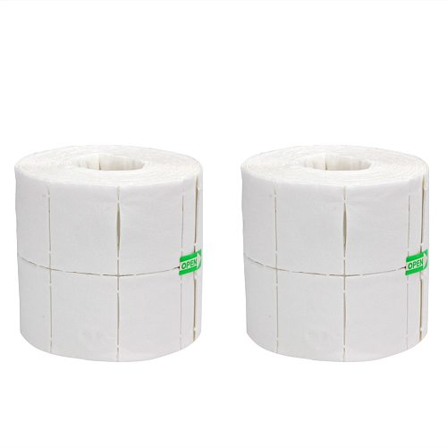 500/300/50/32Pcs/Roll Nail Wipe Pad White Nail Polish Gel Remover Wipes Nail Art Tips Manicure Cleaning Wipes Cotton Paper